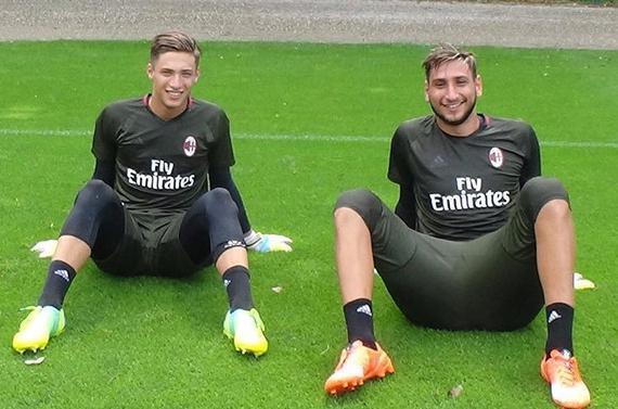 普利扎里(左)与唐纳鲁马(右)是竞争对手也是好哥俩
