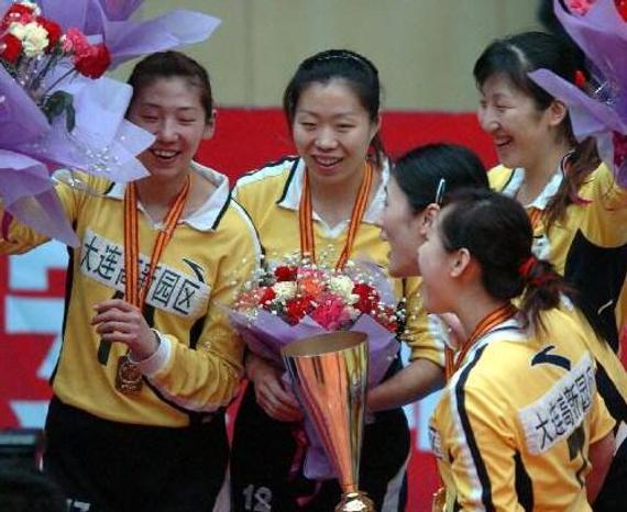 辽宁女排05-06赛季夺冠