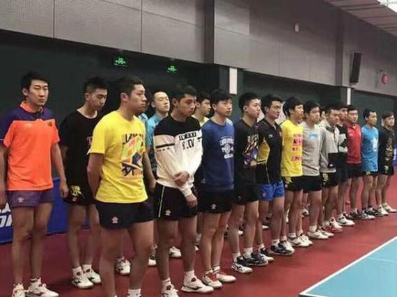 国乒冬训开始
