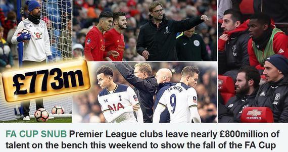英媒感慨英超球队不拿足总杯当回事