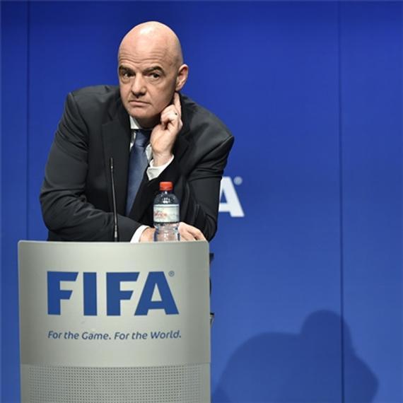 FIFA主席因凡蒂诺