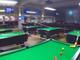视频-史上最强桌球特技! 楼上楼下横跨10余桌命中目标