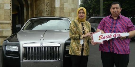 航空公司将豪车授予印尼社会事务部