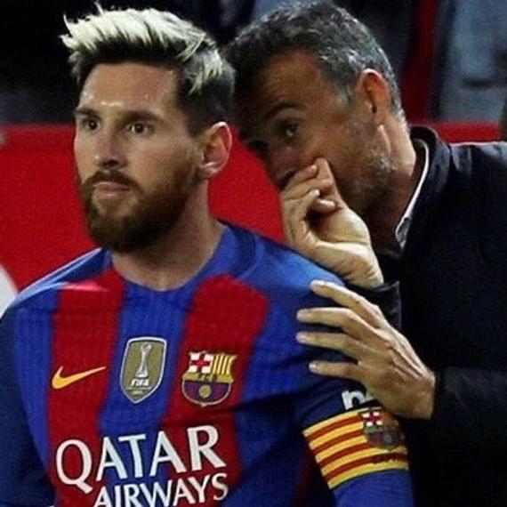 巴萨两名下层被喜怼 恩帅吸吁道梅西时坚