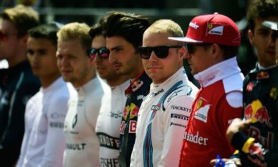 2017赛季F1正式车手席位只剩2个