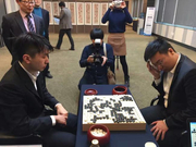 党毅飞为四川赢得第一个围棋世界冠军