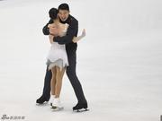 中国冰舞双人滑渐入佳境 张昊:本赛季超乎想象
