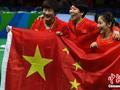 骄傲!中国乒乓球队获影响世界华人大奖提名