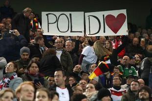 德国球迷深情祝福科隆王子