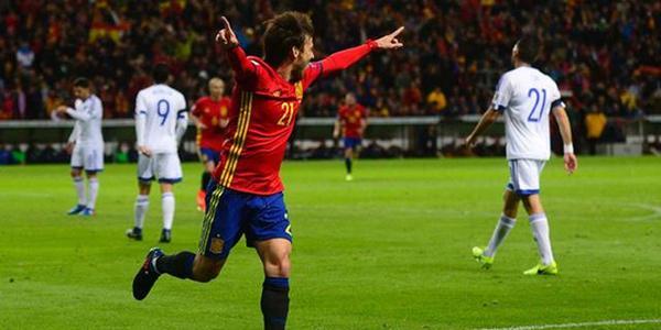 世预-西班牙4-1大胜领跑