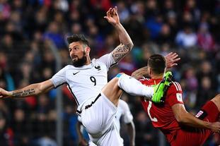 [世预赛]卢森堡1-3法国