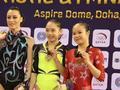 体操世界杯多哈站中国五金 刘婷婷平衡木胜传奇