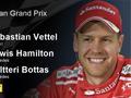 2017F1澳大利亚站正式比赛成绩表
