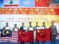 外国乒乓国手被中国士兵横扫