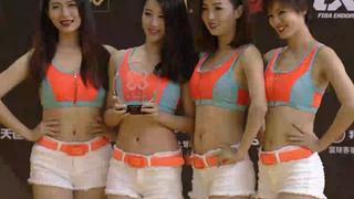 3X3深圳站啦啦操颁奖