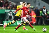 [德国杯]拜仁慕尼黑2-3多特蒙德