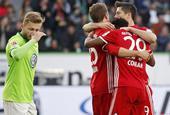 [德甲]沃尔夫斯堡0-6拜仁慕尼黑