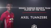 图安泽贝当选预备队最佳球员