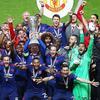 曼联欧联杯夺冠 穆里尼奥带群星狂欢