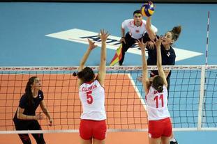 友谊赛土耳其女排0-3负俄罗斯