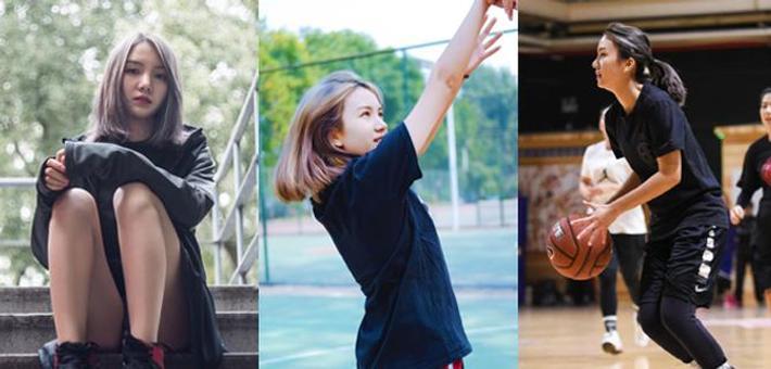 有颜值有球技,这才是篮球女神啊
