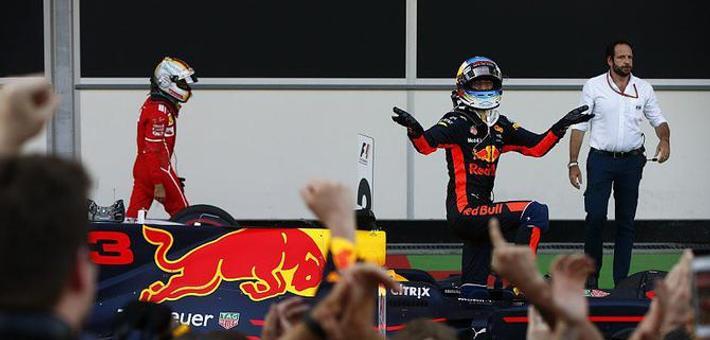 F1阿塞拜疆站混战 里卡多夺冠