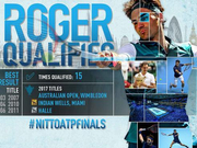 ATP宣布费德勒入围年终总决赛 15次出战争第7冠