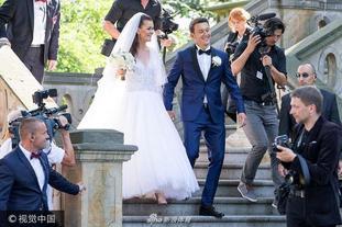 网球明星A-拉德万斯卡波兰大婚