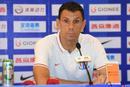 上海申花0-0山东鲁能双方出席赛后发布会