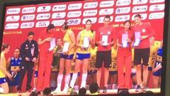 朱婷丁霞入围女排大奖赛最佳阵容 娜塔莉亚获MVP