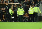埃尔南德斯遭遇重伤现场吸氧被送往医院