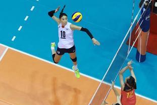 亚锦赛女排0-3负韩国第四收官