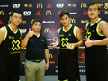 3x3篮球彰显学生个性