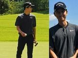 宋仲基生日打高尔夫