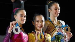 范忆琳卫冕比肩程菲 中国高低杠四连冠延续强势