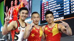 2017体操世锦赛奖牌榜:中国时隔6年重登榜首