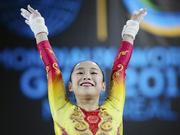 体操世锦赛女子一片混战2项目太水 中国受困伤病