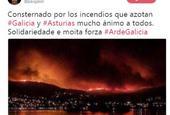 千亿国际界为伊比利亚大火祈福