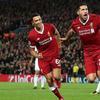欧冠-萨拉赫建功 利物浦3-0领跑