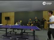 库查尔乒乓球输给窦泽成 事后方知他也打美巡赛