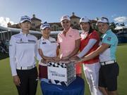 LPGA总决赛即将打响 冯珊珊同组汤普森朴城炫