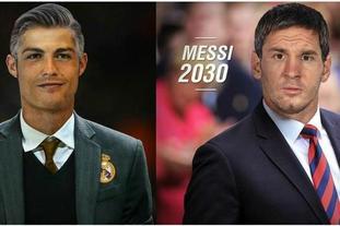 如果C罗梅西成为教练……