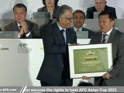 足协:有强烈愿望举办亚洲杯 杜兆才:中国欢迎你们