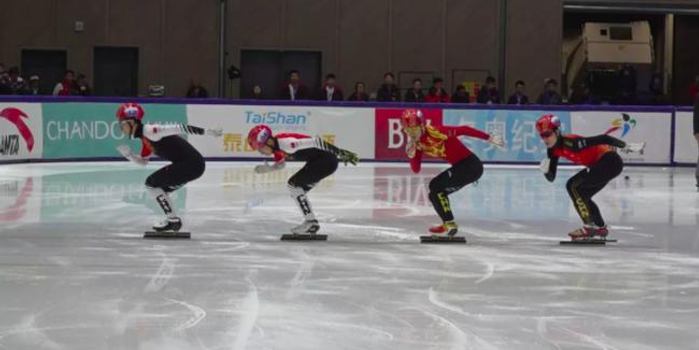 短道队内选拔赛17岁小将胜武大靖 夺500米冠军