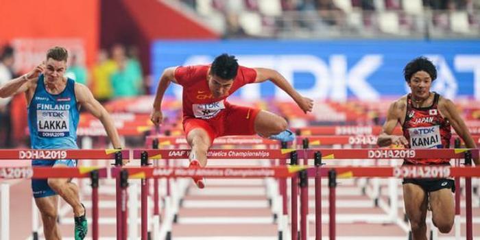 首进决赛!世锦赛男子110米栏半决谢文骏再进一步