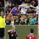 C罗梅西红牌数对比:C罗已拿11次 梅西生涯仅1次