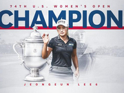 美国公开赛李晶恩夺冠 刘钰T5获大满贯第二个前十