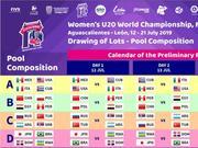 U20女排世锦赛抽签揭晓 中国和波兰埃及秘鲁一组