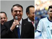 巴西总统回应梅西炮轰:这是足球运动员的表演