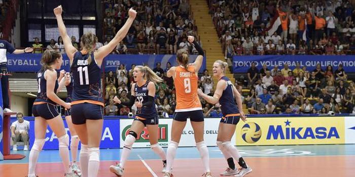 女排奧運資格賽荷蘭零封比利時 斯洛特耶斯17分